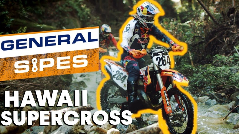 A Hawaiian Supercross Vacation Before the Erzbergrodeo | General Sipes E3