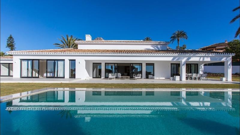 New Modern Mediterranean Luxury Villa in Sierra Blanca Marbella Spain 5 500 000€