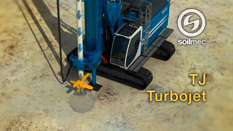 Turbojet Technology Soilmec TJ SR 90 drilling rig machine