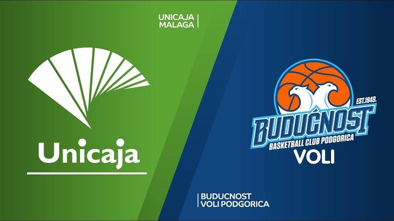 Unicaja Malaga - Buducnost VOLI Podgorica Highlights   7DAYS EuroCup, Regular Season Round 1