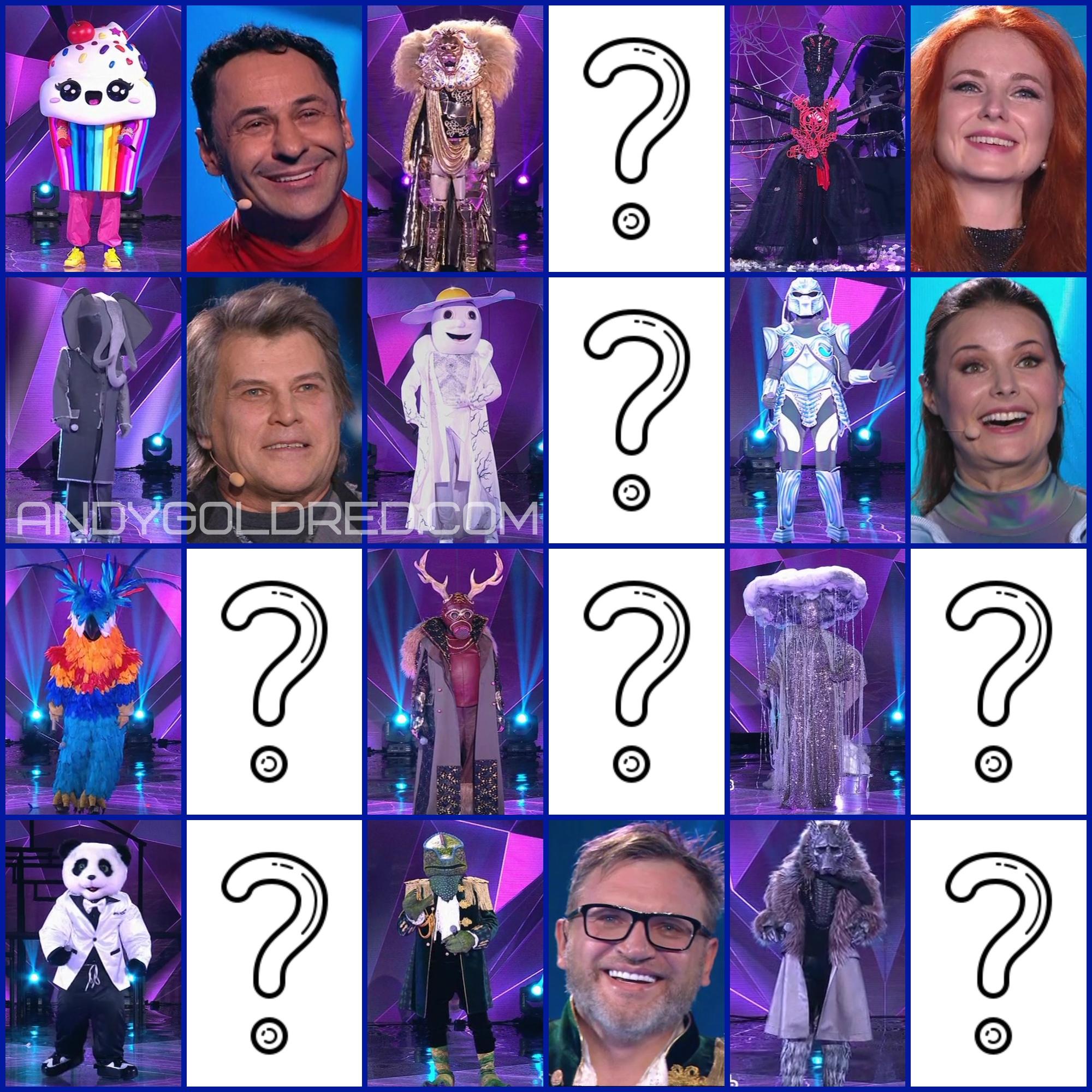 Кто скрывается за маской в шоу МАСКА на НТВ?