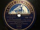 Dino Olivieri e la sua Orchestra, Elettrotreno, Fox swing, Milano, 1940