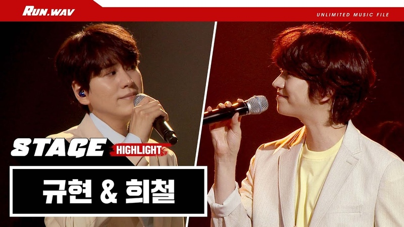 데뷔 14년차 프로 아이돌의 케미ㄷㄷ 희철 Hee Chul 규현 Kyuhyun '나비잠' live