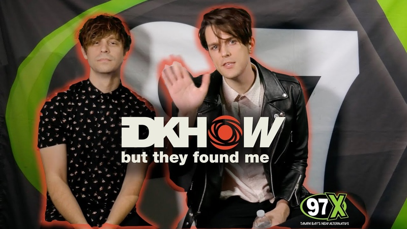 IDKHOW BUT THEY FOUND ME act out their favorite emojis more backstage at 97XNBT