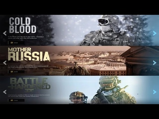 Call of Duty Modern Warfare 2019 Store - Cold Blood, Mother Russia, Battle Hardened 2