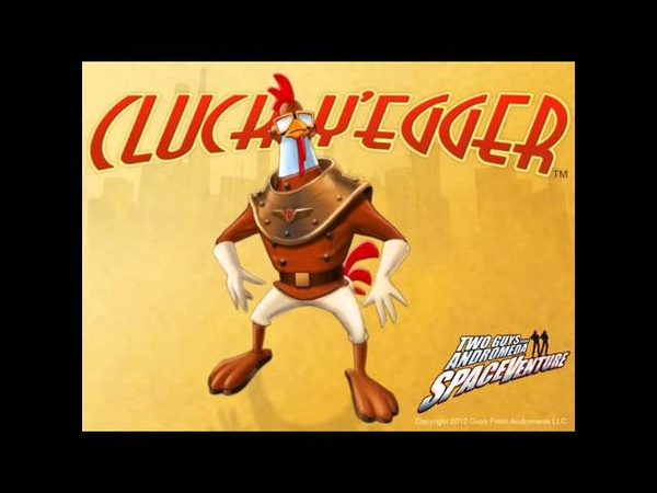 Meet Cluck Yegger, a new character by the Two Guys From Andromeda for SpaceVenture