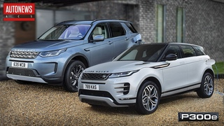Новый гибрид Land Rover Evoque и Discovery Sport (P300e PHEV)