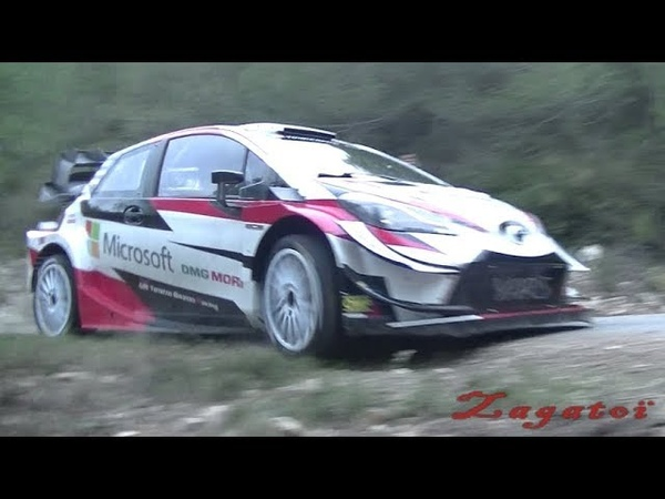 Тесты Toyota и Криса Мика перед ралли Испании 2019