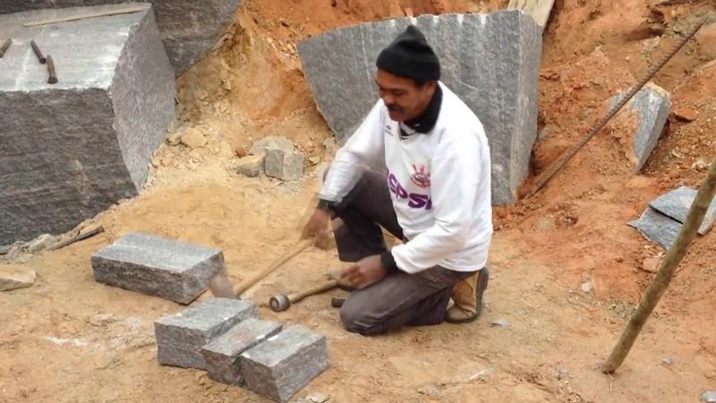 Zé da Pedra - Arte de recortar a Pedra