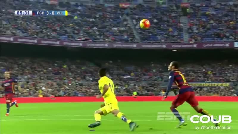 Neymar Goal Vs Villareal