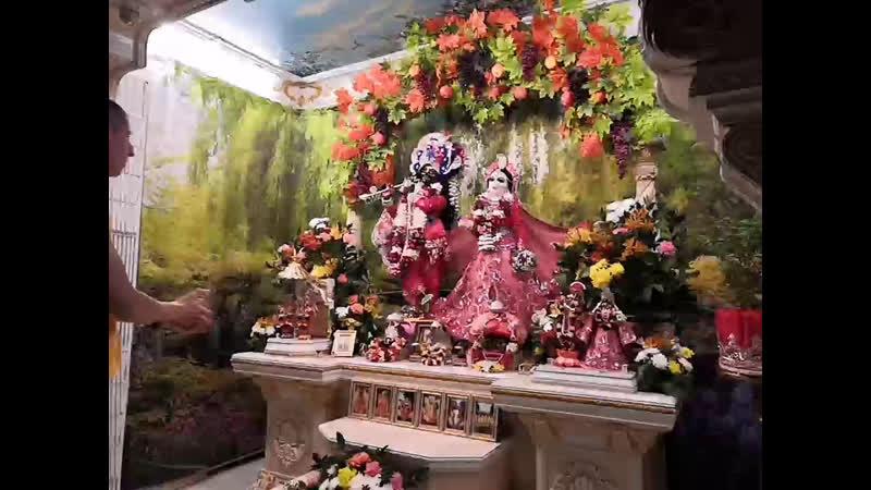 Даршан Первых и Несравненных Российских Божеств Шри Шри Радха Говинда 08 10 19