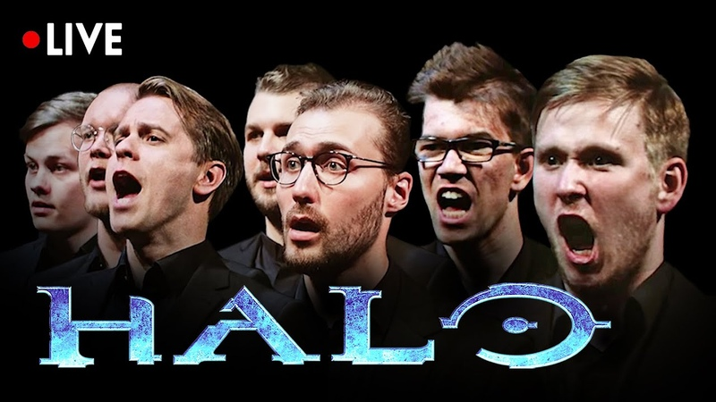 HALO - Theme Song LIVE   ORCHESTRA CHOIR CONCERT [HQ] Music from OST Soundtrack