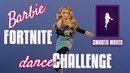 Smooth Moves - Barbie Fortnite Dance Challenge - Stop Motion Animation - Barbie Curvy Yoga MTM Doll