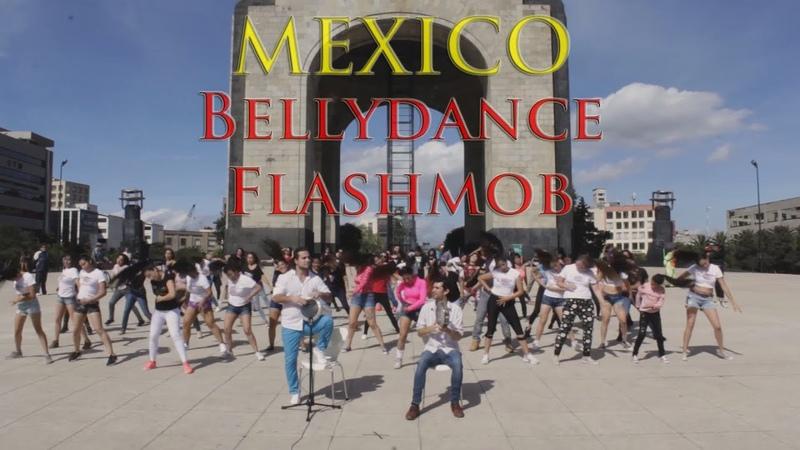 Bellydance Flashmob   Artem Uzunov   Mexico 2019