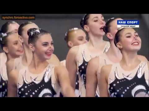 Ukraine UKR Team Free Final Glasgow European Championships 2018