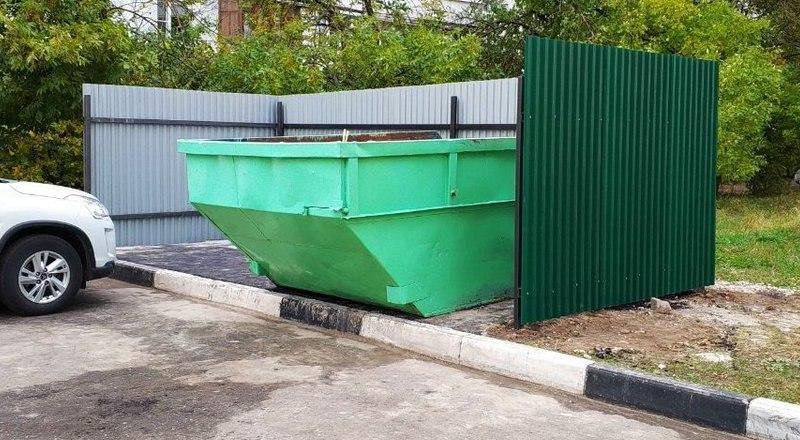 В Таганроге определен адресный перечень расположения емкостей для крупногабаритных отходов