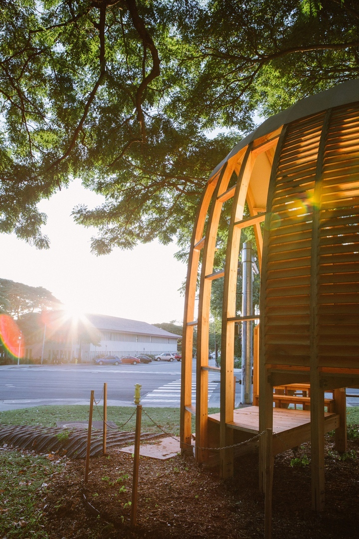 Architecture grad makes affordable prefab homes from Hawaii's invasive trees