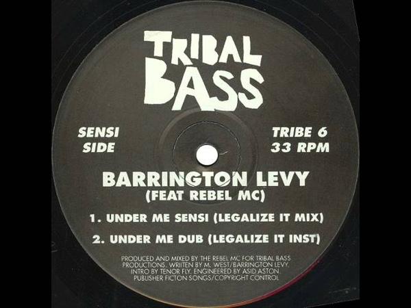 Barrington Levy Feat. Rebel MC - Under Me Sensi (Legalize It Mix)