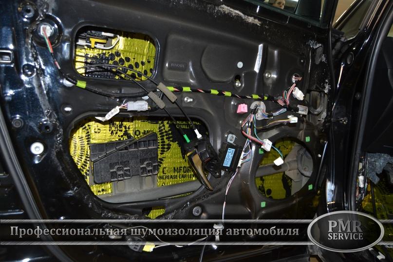 Шумоизоляция Toyota Venza, изображение №6