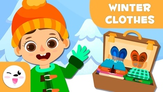 Winter clothing - Vocabulary in English for kids
