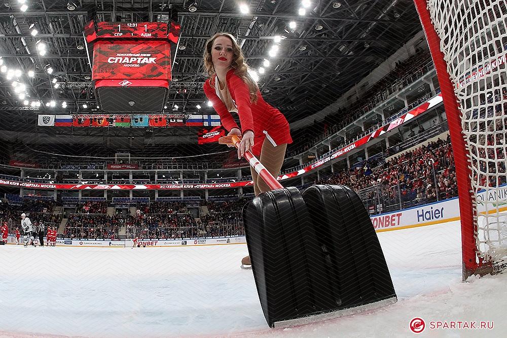 «Ice Girls» «Спартака»
