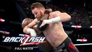FULL MATCH - Braun Strowman & Bobby Lashley vs. Kevin Owens & Sami Zayn: WWE Backlash 2018