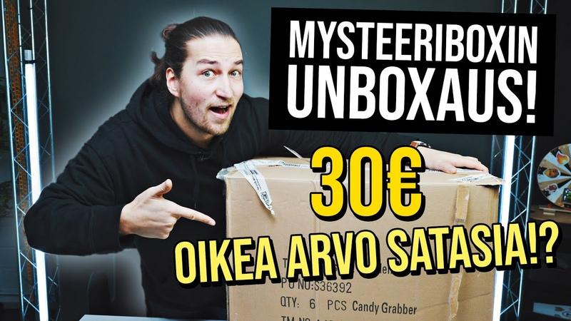 TÄMÄ OLI VIRHE Mystery Box Unboxing