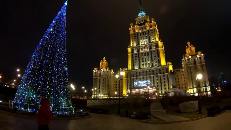 Москва Готовиться К Празднованию Нового Года