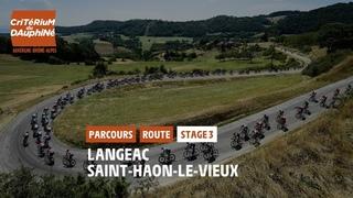 Critérium du Dauphiné 2021 - Découvrez l'étape 3