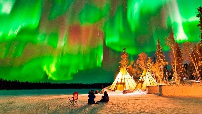 10 лучших мест в мире, где можно увидеть северное сияние, изображение №1