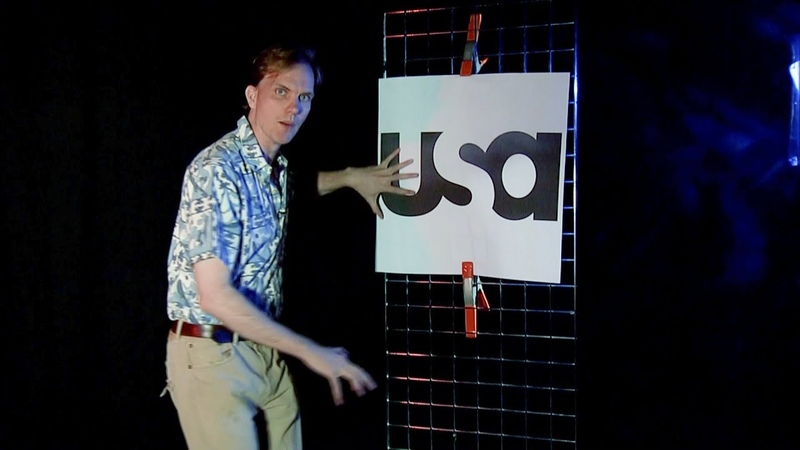 I Quickly Explain Why the USA Network Logo is Perverted