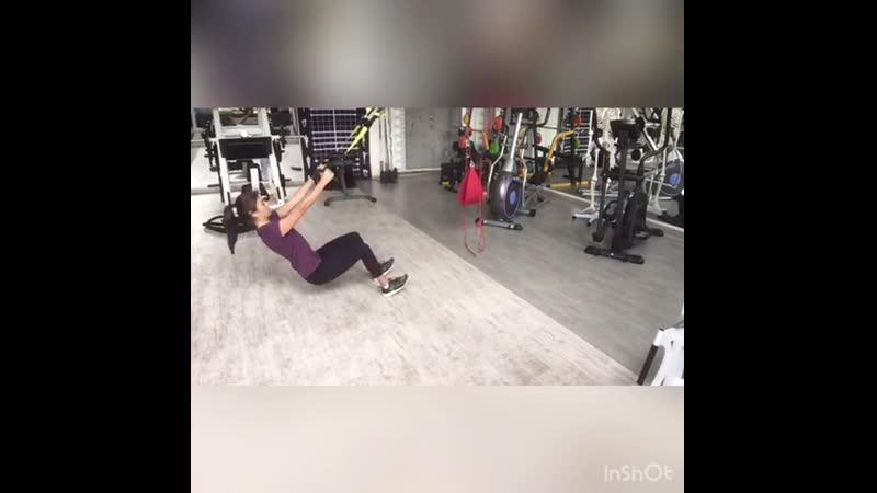 Упражнение на петлях TRX