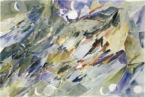 Елсе Альфельт, Else Alfelt (6 сентября 1910 -1974, Дания)