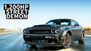 8 Second Street Car 1 200hp Dodge Challenger Demon Driven by Leah Pritchett