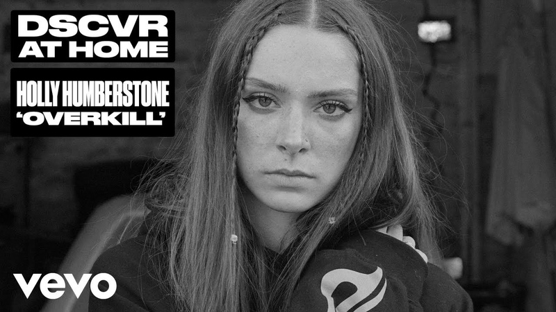 Holly Humberstone - Overkill (Live) | Vevo DSCVR at Home