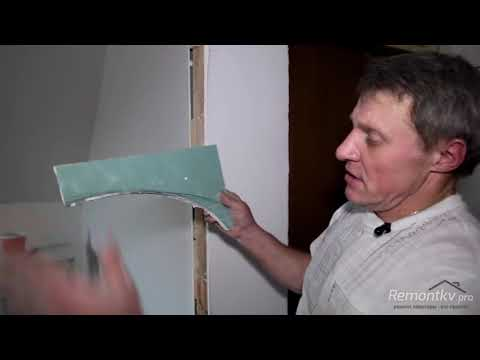 Потолок из гипсокартона своими руками Арка из гипсокартона Александр Смолин