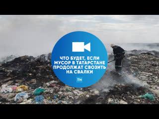 Что будет, если мусор в Татарстане продолжат свозить на свалки