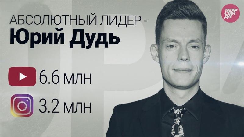 Дудь Ивлеева Харламов Кто самый популярный блогер в России Выбрали героев Интернета