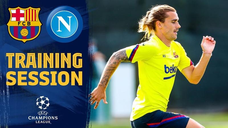 LET'S GO Napoli preparations underway 💪