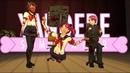 Устранение Кизаны во время школьных игр улучшенная версия Yandere Simulator