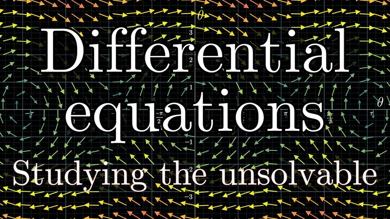 Differential equations studying the unsolvable DE1