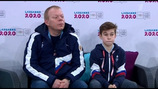 Даниил Самсонов. Юношеские зимние Олимпийские Игры 2020 Короткая программа