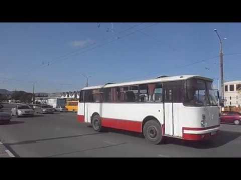 Автобус ЛАЗ времён СССР