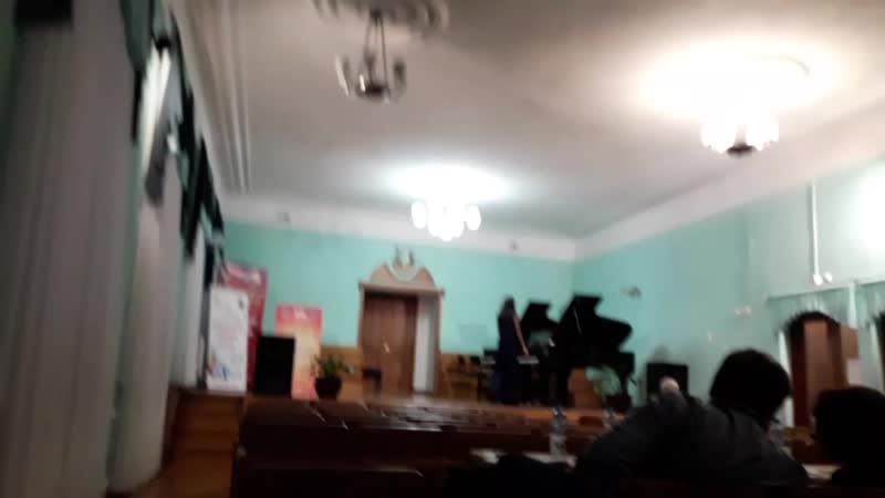 Федорова Елизавета. Соло. Рахманинов Прелюдия 5 Соль минор. 2 место!