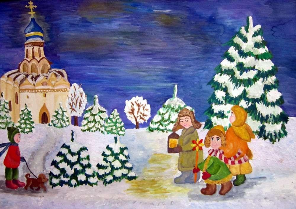 Короткие рождественские колядки для детей в 2020 году на русском языке