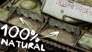 Using REAL EARTH For Scale Model Weathering YES PLEASE!!! | KV-220-2 | 1/72 PST Final Episode
