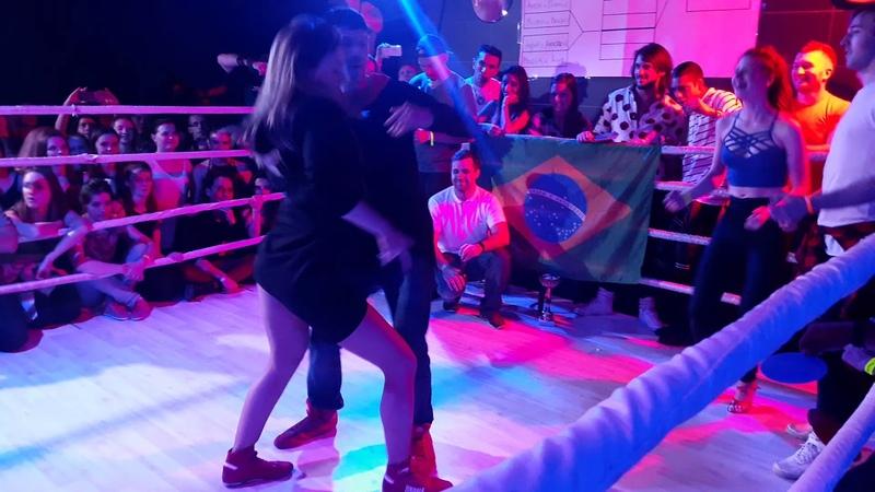 Brazuka Dance Festival 2017 Zouk Battle 1 4 final 3