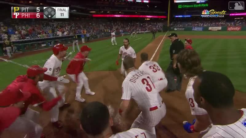 Sean Rodriguez's walk-off HR in 11th © MLB.com