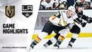НХЛ 2019 20 Предсезонный Матч Лос Анджелес Вегас 2 3 ОТ Полный Обзор Встречи 20 09 19
