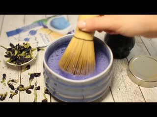 Чай синий матча из Анчана